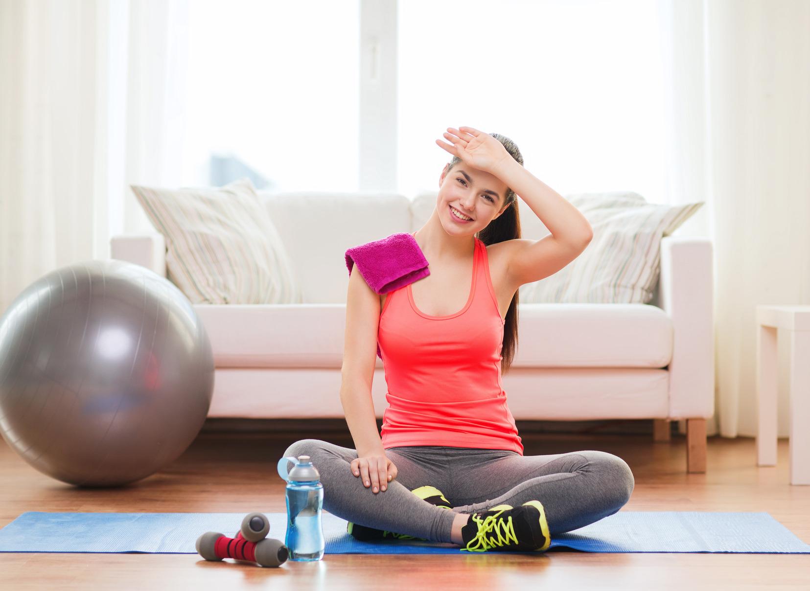Antrenamente acasa – primele exercitii