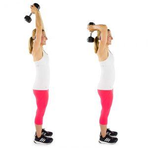 cum să slăbiți brațele folosind greutăți