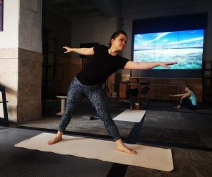 #1month1challenge – Yoga la Studioul Universul